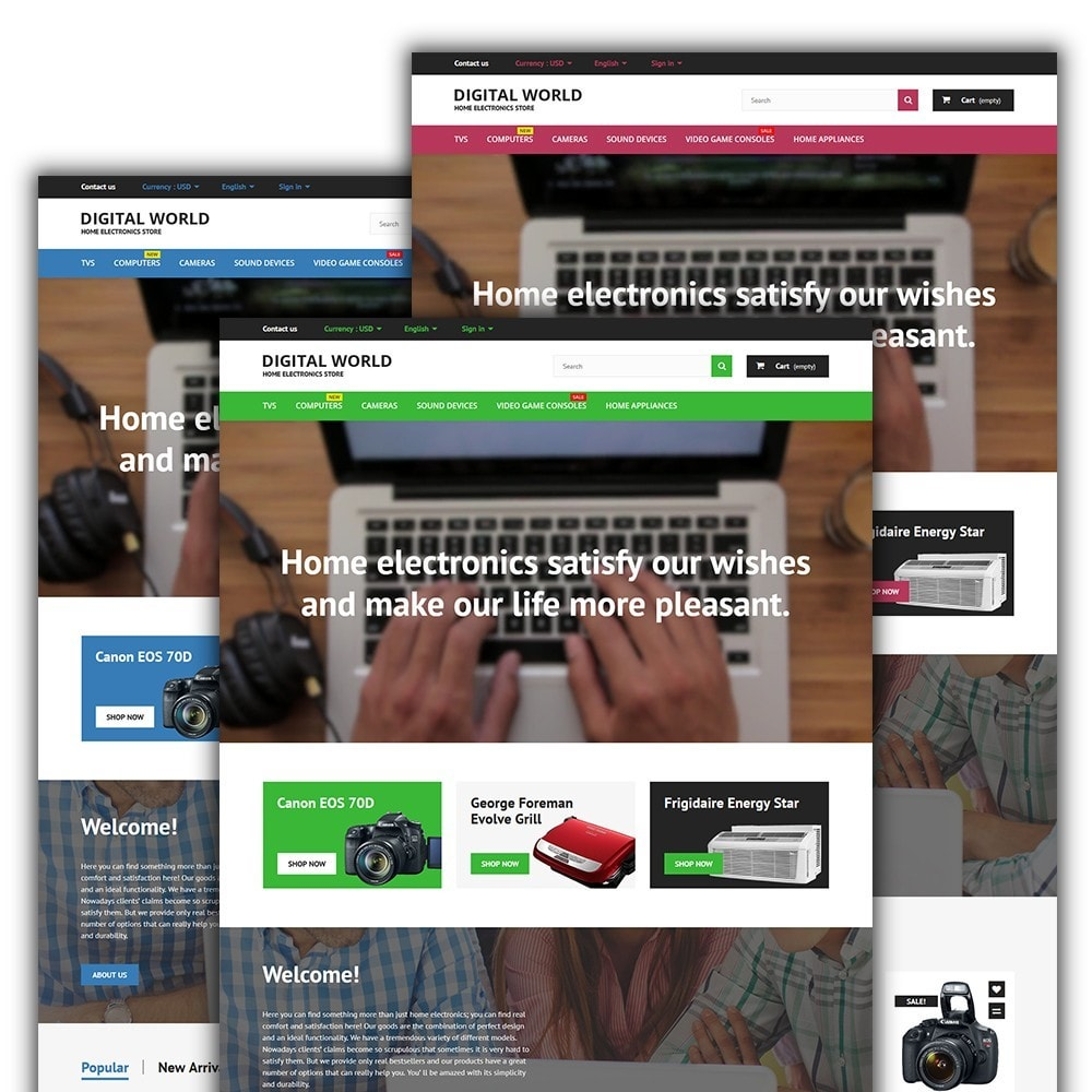 theme - Elektronika & High Tech - Digital World - 2