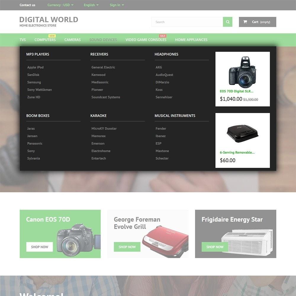 theme - Elektronika & High Tech - Digital World - 4