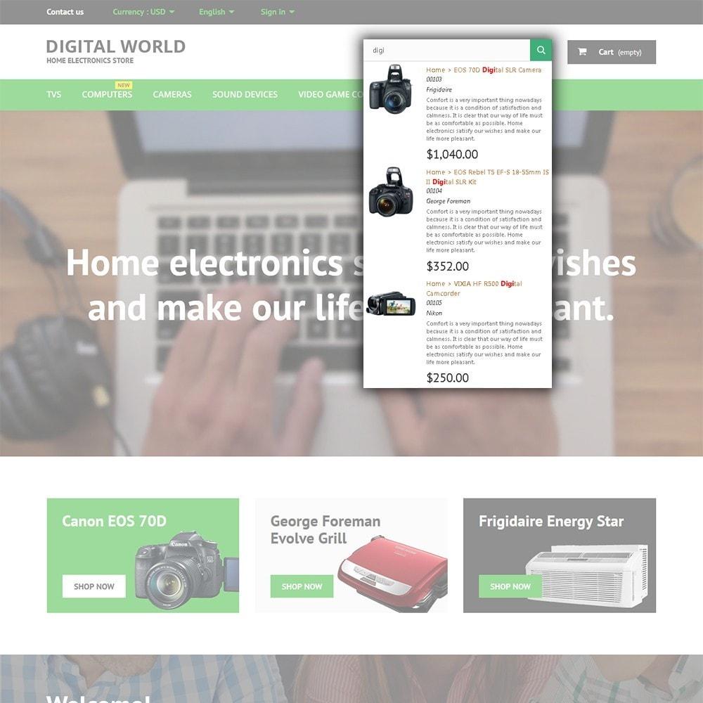 theme - Elektronika & High Tech - Digital World - 6