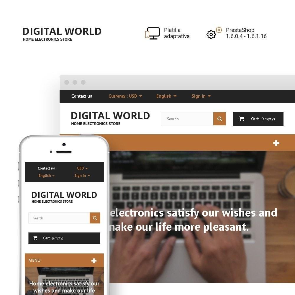 theme - Electrónica e High Tech - Digital World - 1
