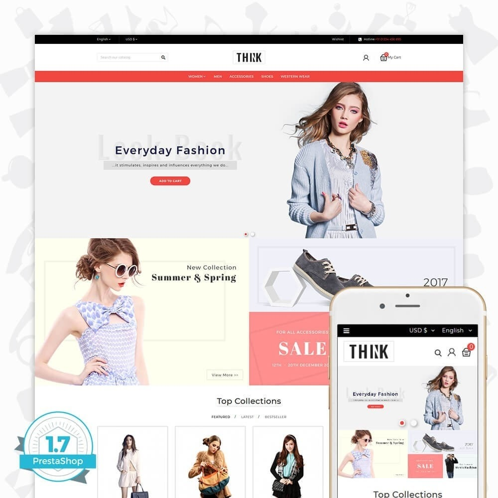 theme - Moda & Obuwie - Think - The Fashion Store - 1