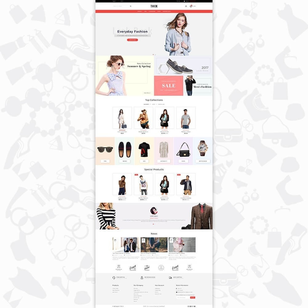 theme - Moda & Obuwie - Think - The Fashion Store - 2