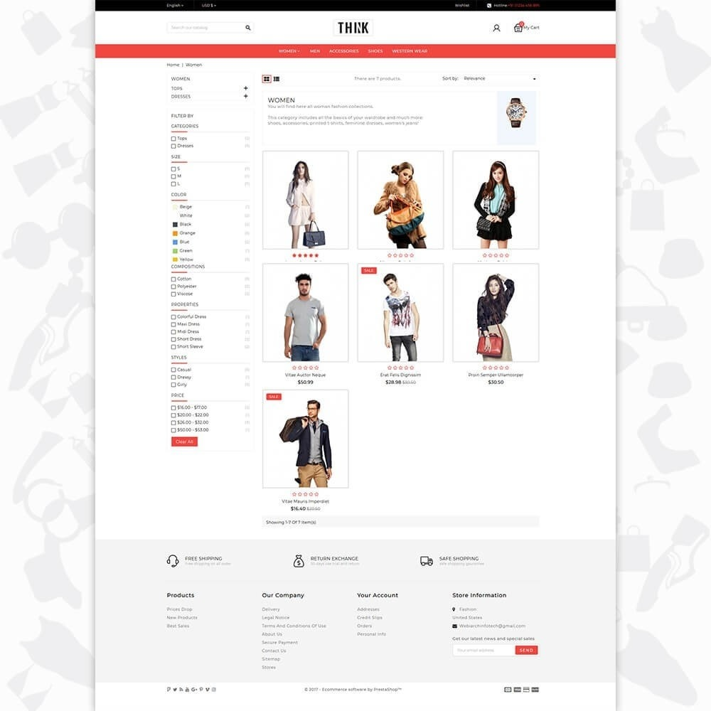 theme - Moda & Obuwie - Think - The Fashion Store - 3