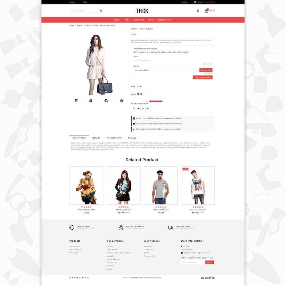 theme - Moda & Obuwie - Think - The Fashion Store - 5