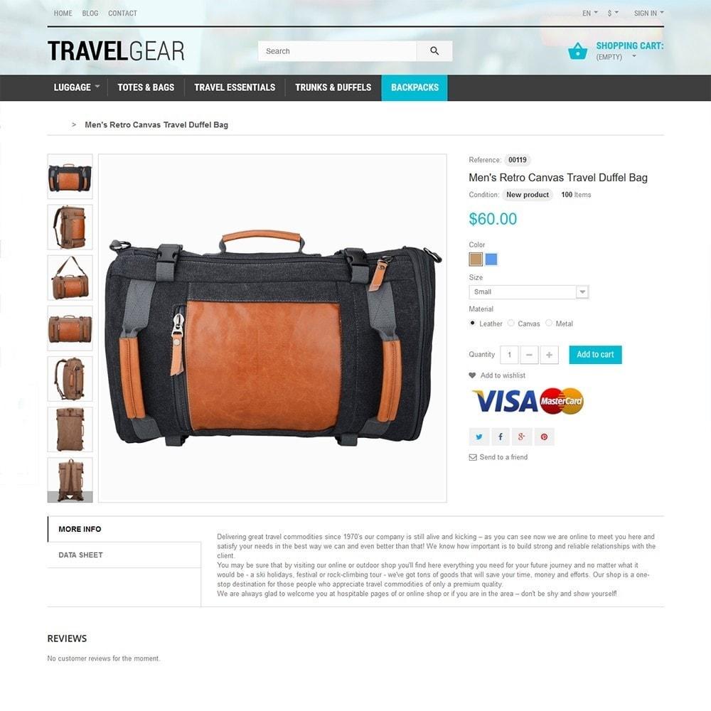 theme - Спорт и Путешествия - Travel Gear - шаблон на тему путешествия - 3