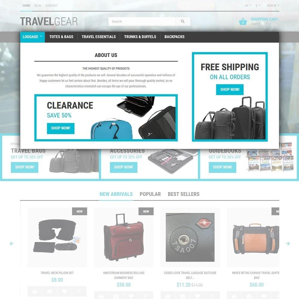 theme - Спорт и Путешествия - Travel Gear - шаблон на тему путешествия - 4