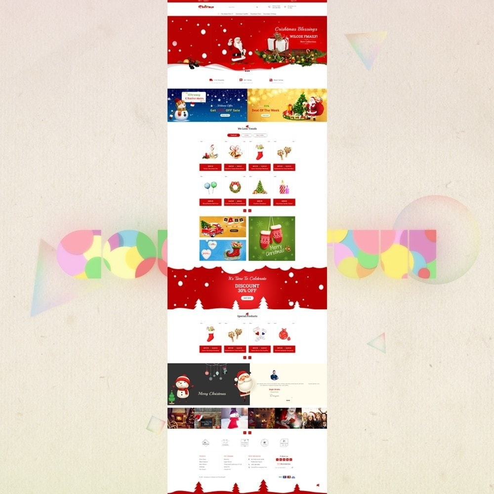 theme - Gifts, Flowers & Celebrations - Gift Card - Christmas Store - 2