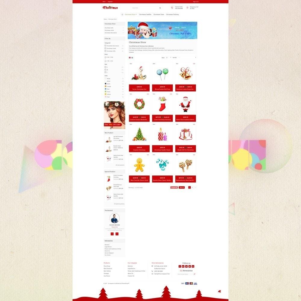 theme - Presentes, Flores & Comemorações - Gift Card - Christmas Store - 3