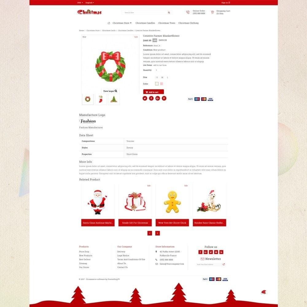 theme - Presentes, Flores & Comemorações - Gift Card - Christmas Store - 4