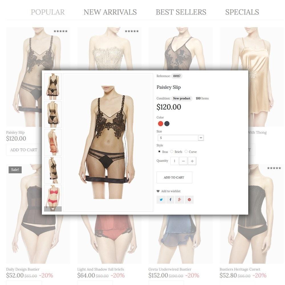 theme - Moda & Calçados - Lingerie - 4