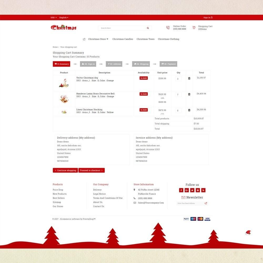 theme - Presentes, Flores & Comemorações - Gift Card - Christmas Store - 5