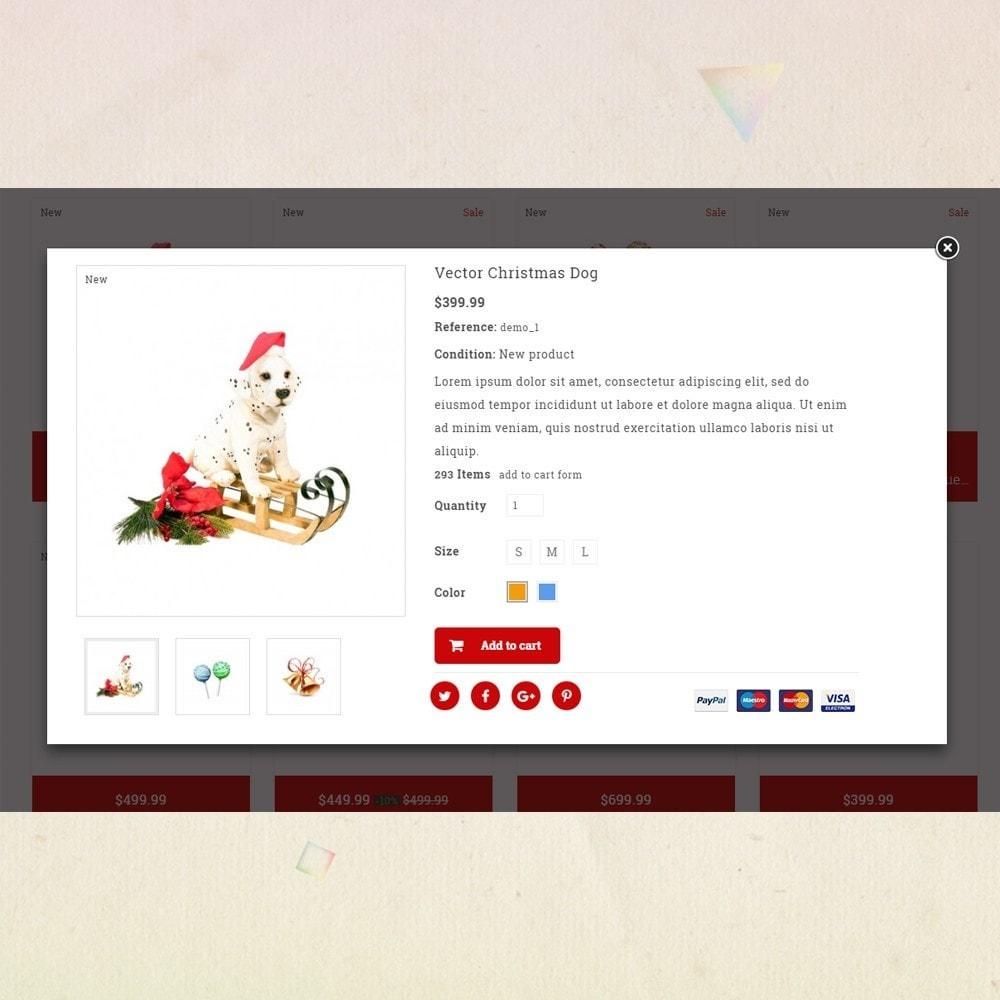 theme - Presentes, Flores & Comemorações - Gift Card - Christmas Store - 6