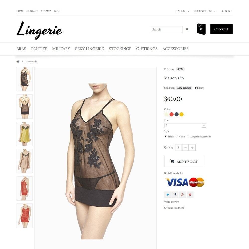 theme - Мода и обувь - Lingerie - 3