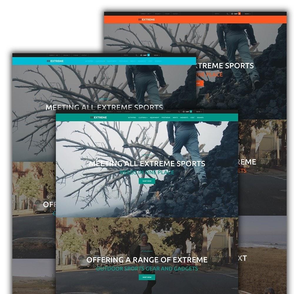 theme - Deportes, Actividades y Viajes - Extreme - para Sitio de Deportes extremos - 2