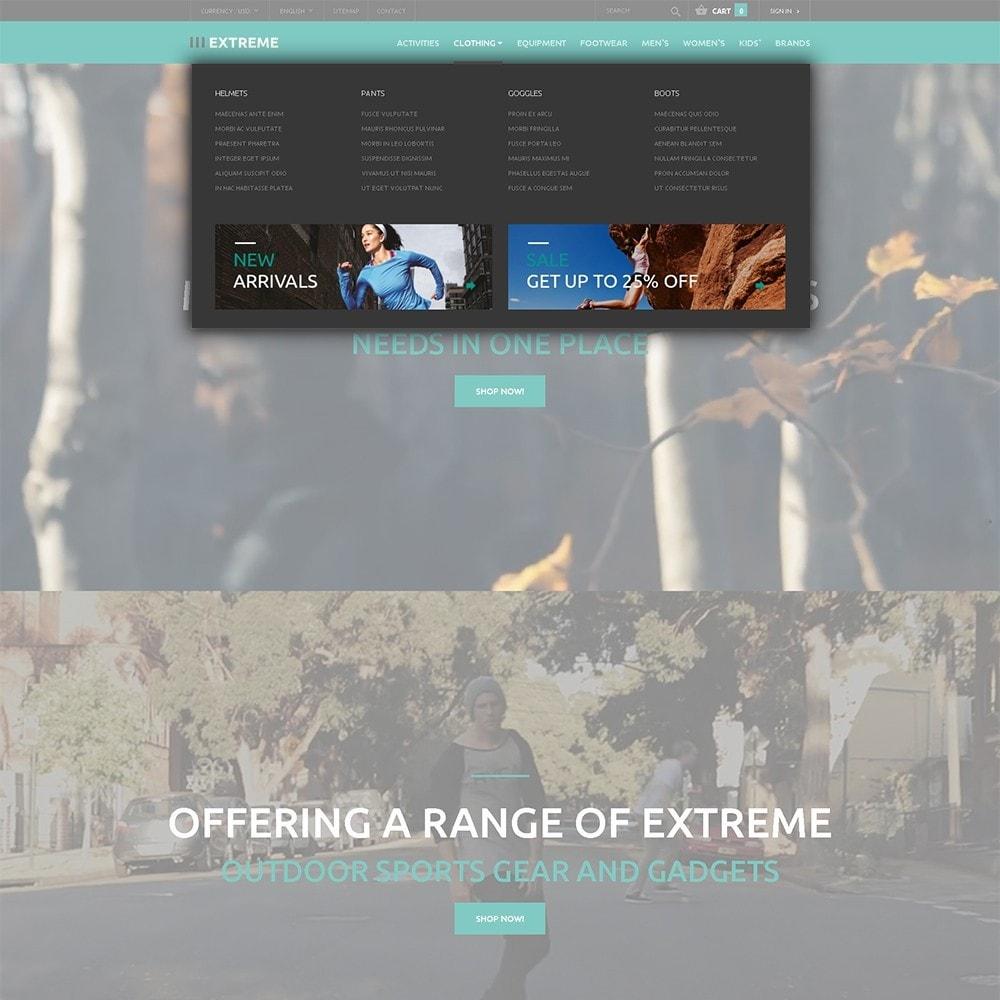 theme - Deportes, Actividades y Viajes - Extreme - para Sitio de Deportes extremos - 5