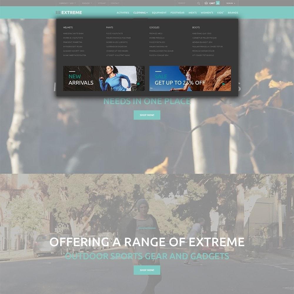 theme - Спорт и Путешествия - Extreme - шаблон на тему экстремальные виды спорта - 5