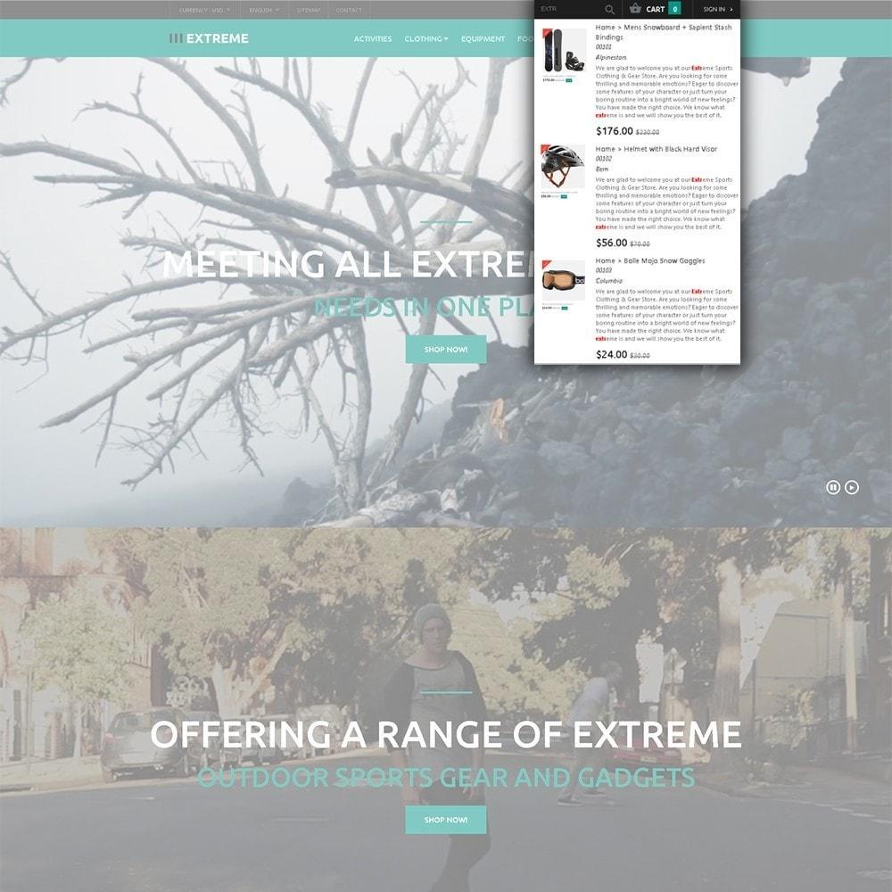 theme - Спорт и Путешествия - Extreme - шаблон на тему экстремальные виды спорта - 6