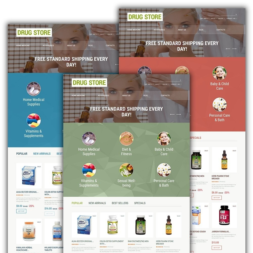 theme - Здоровье и красота - Drug Store - 2