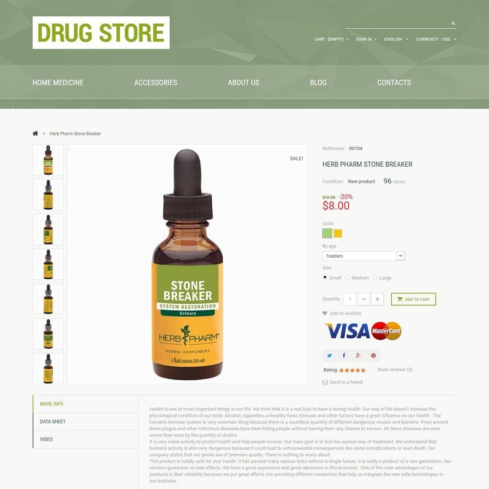 theme - Здоровье и красота - Drug Store - 3