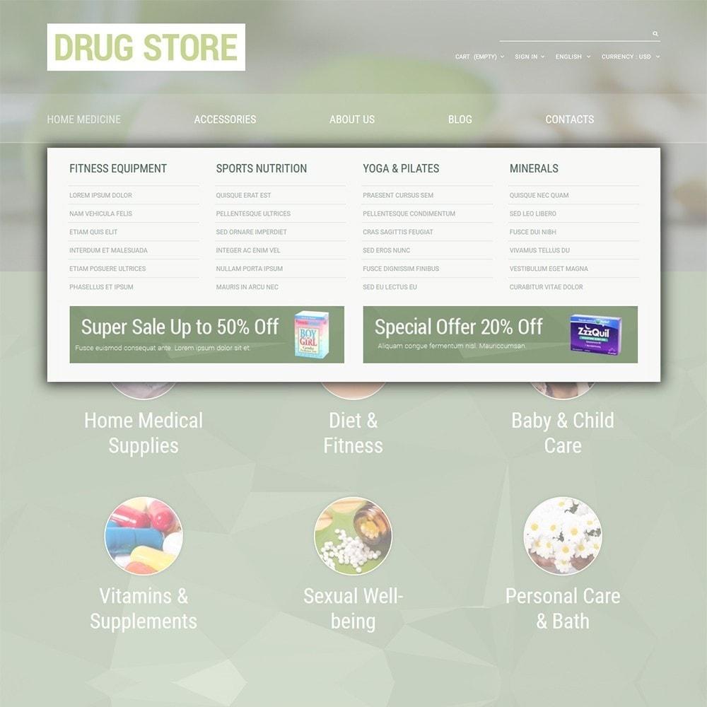 theme - Здоровье и красота - Drug Store - 5