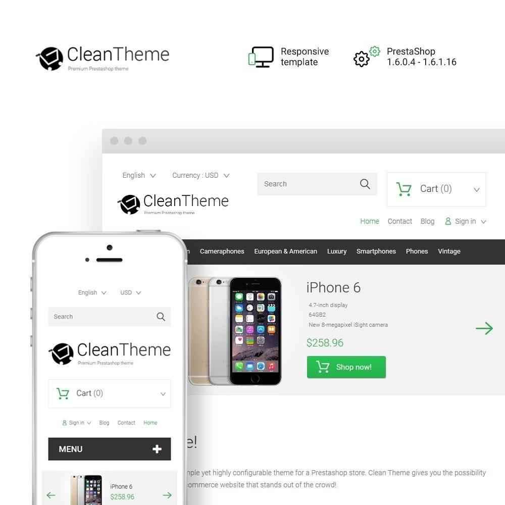 theme - Eletrônicos & High Tech - Clean Theme - 1