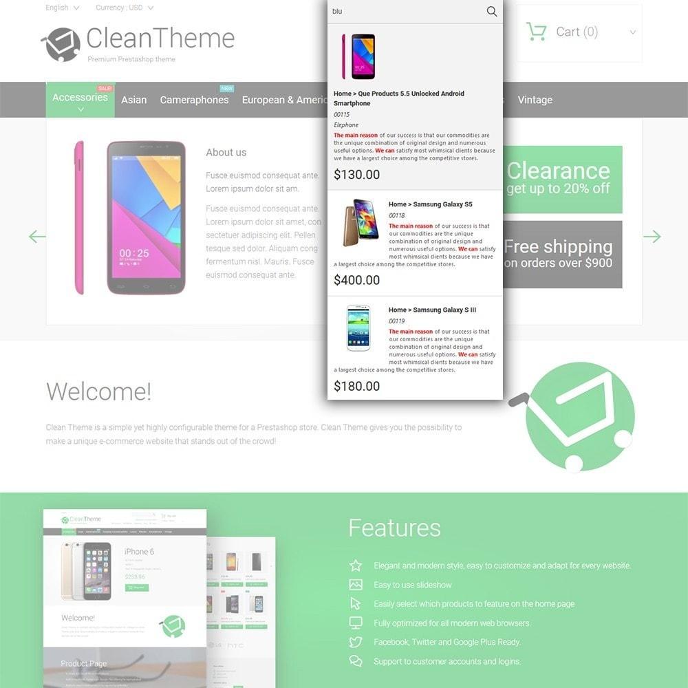theme - Electrónica e High Tech - Clean Theme - 6