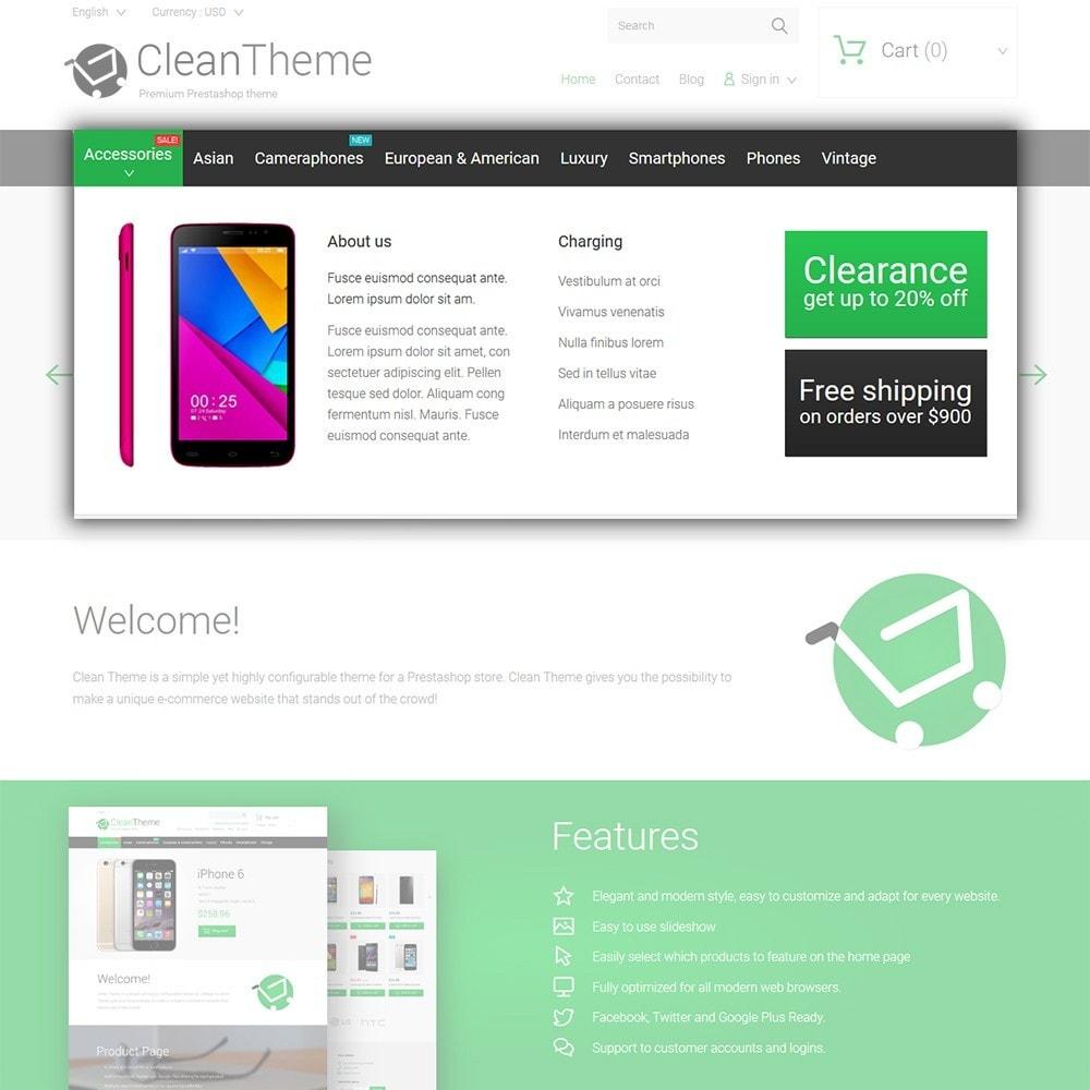 theme - Электроника и компьютеры - Clean Theme - 4
