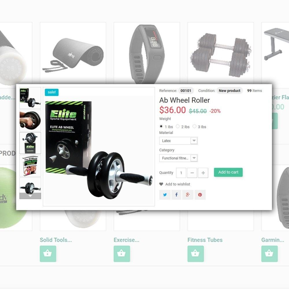 theme - Sport, Aktivitäten & Reise - Sport&Fitness - Fitness Template - 4