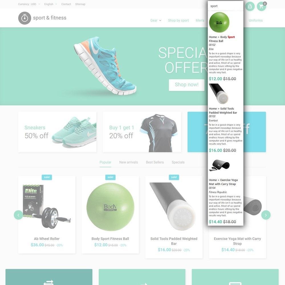 theme - Sport, Aktivitäten & Reise - Sport&Fitness - Fitness Template - 6