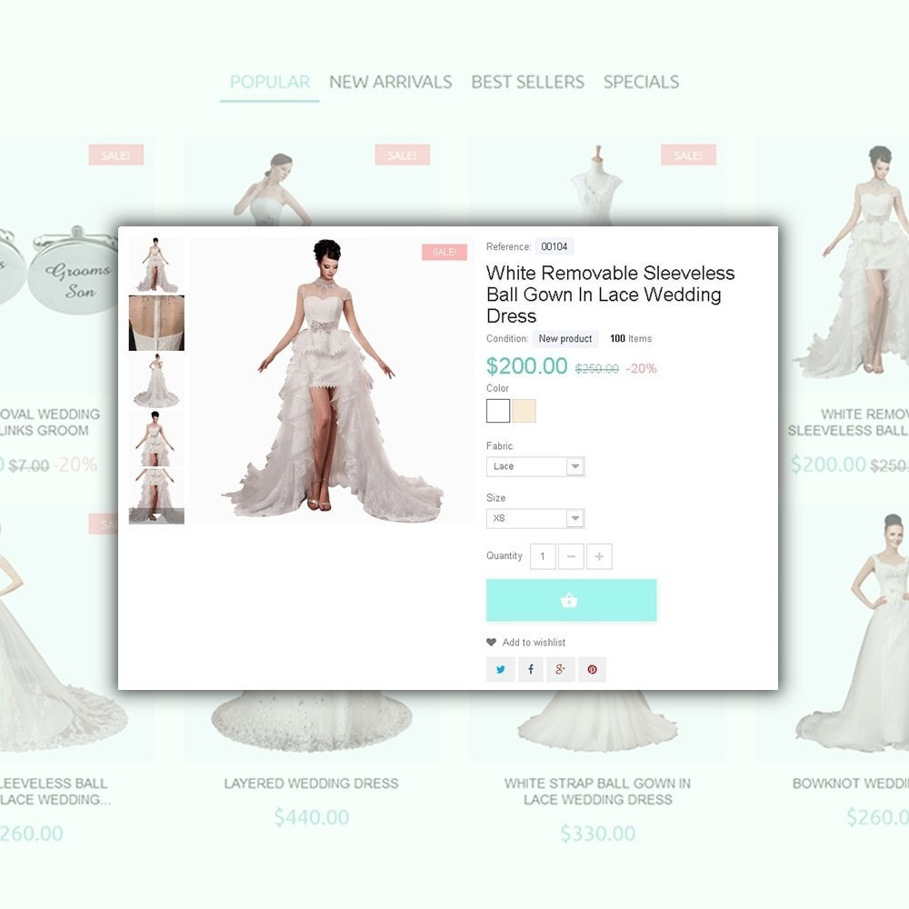 theme - Fashion & Shoes - One Day - Wedding Shop Template - 4