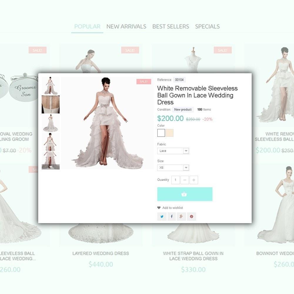 theme - Мода и обувь - One Day - шаблон на тему свадебный магазин - 4