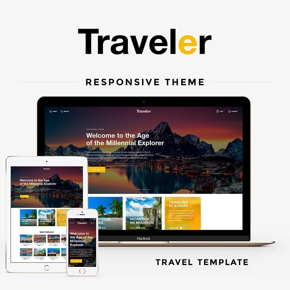 theme - Deportes, Actividades y Viajes - Traveler - 1