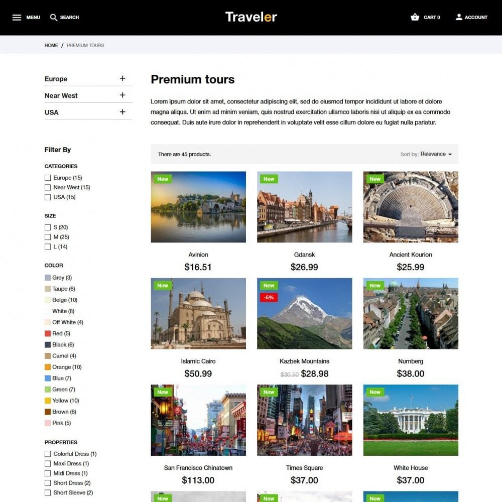 theme - Deportes, Actividades y Viajes - Traveler - 6