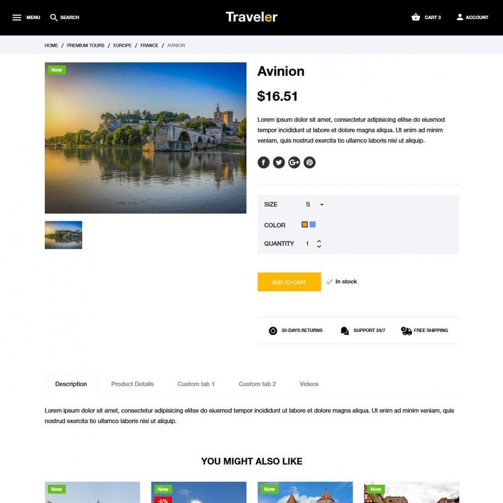 theme - Deportes, Actividades y Viajes - Traveler - 7
