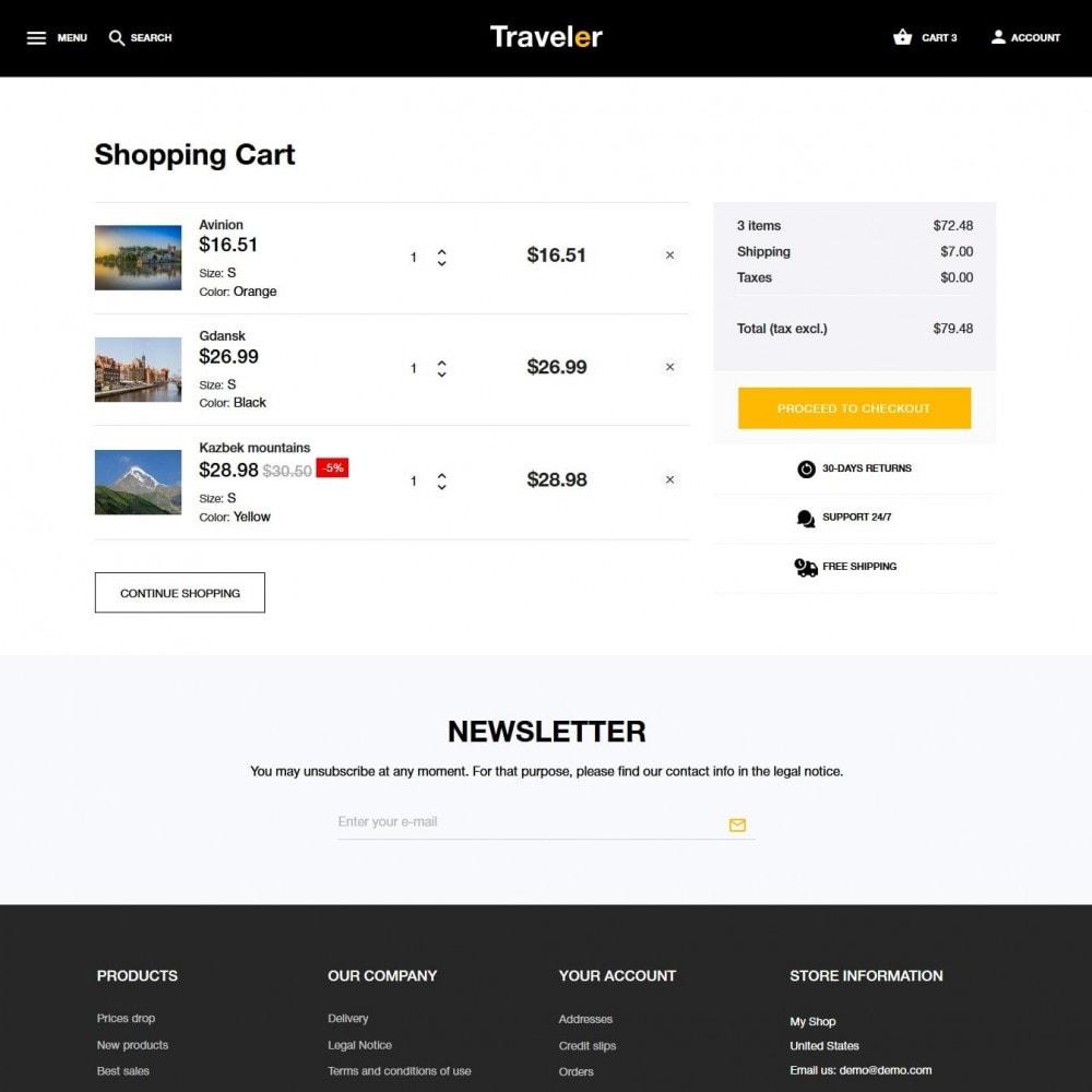 theme - Sport, Rozrywka & Podróże - Traveler - 10