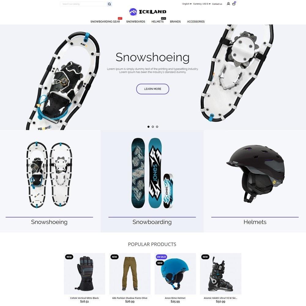 theme - Deportes, Actividades y Viajes - IceLand - 2