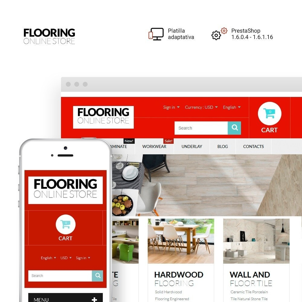 theme - Arte y Cultura - Flooring Online Store - 1
