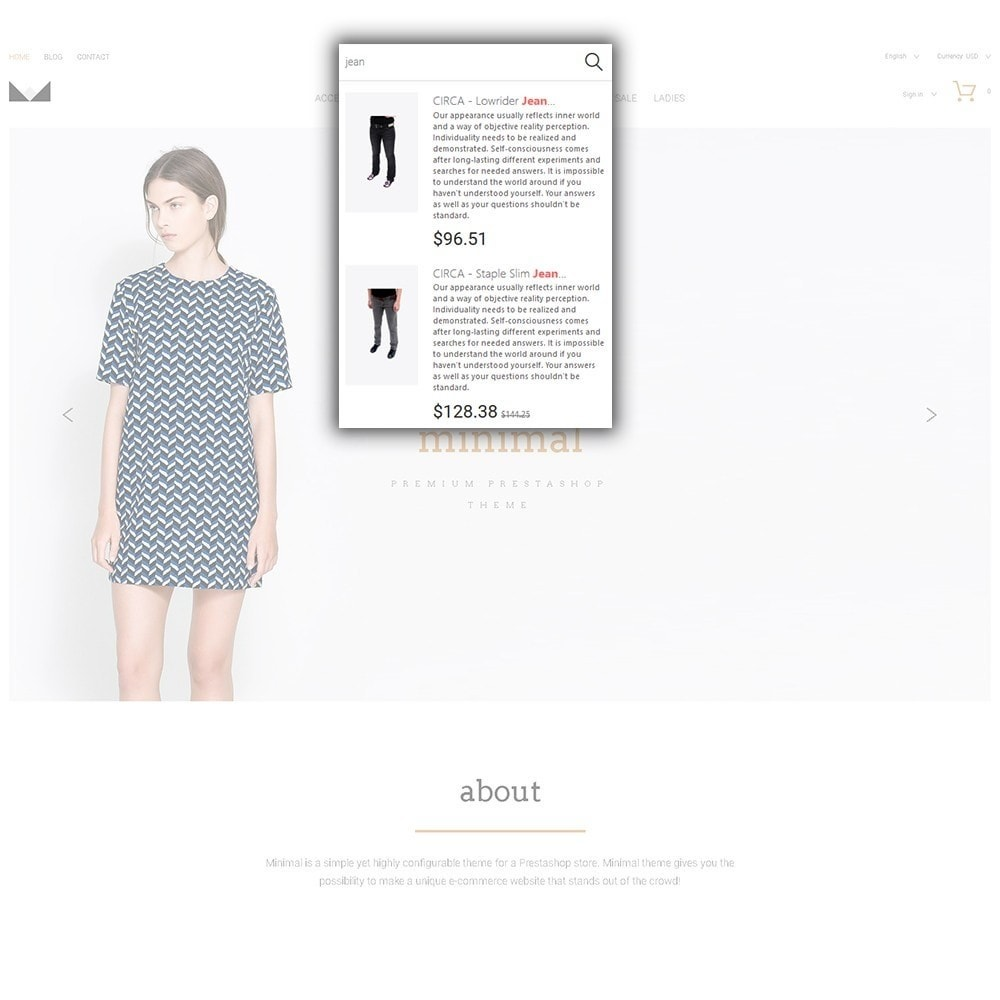 theme - Мода и обувь - Minimal - 6
