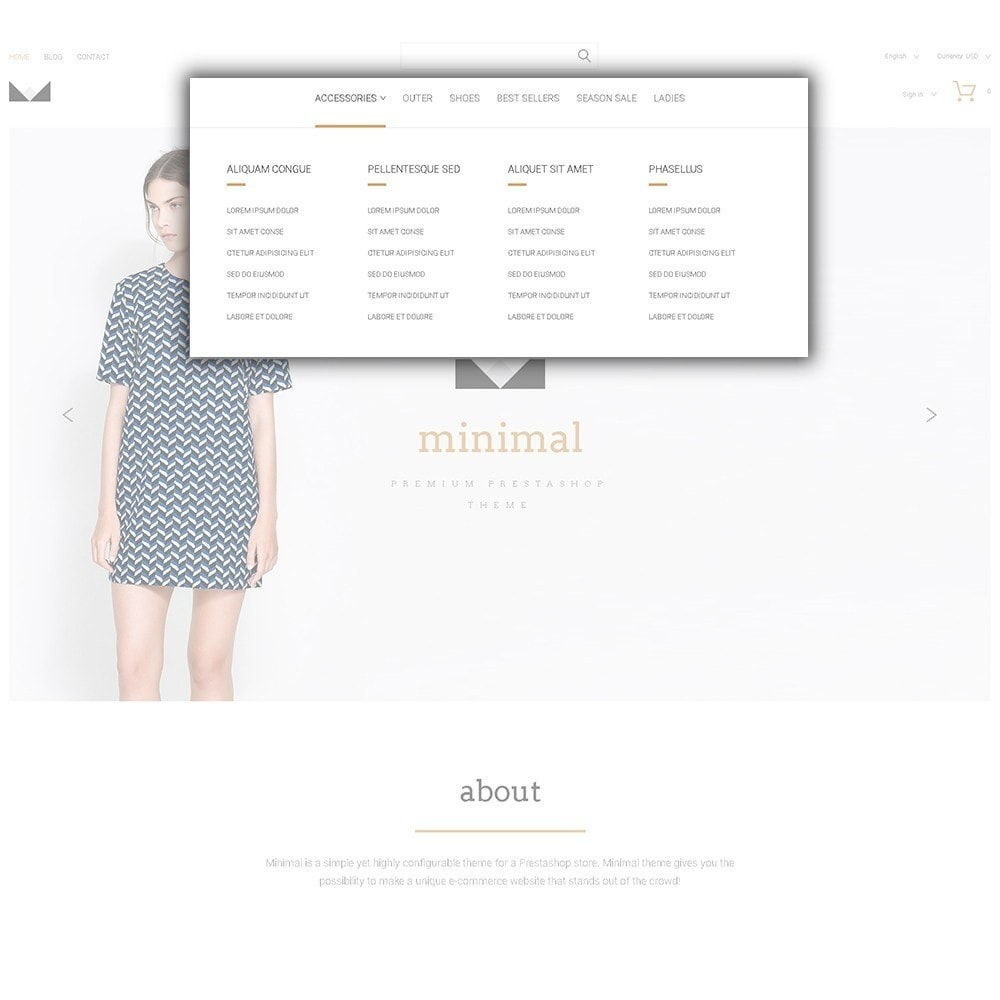 theme - Fashion & Shoes - Minimal - 5