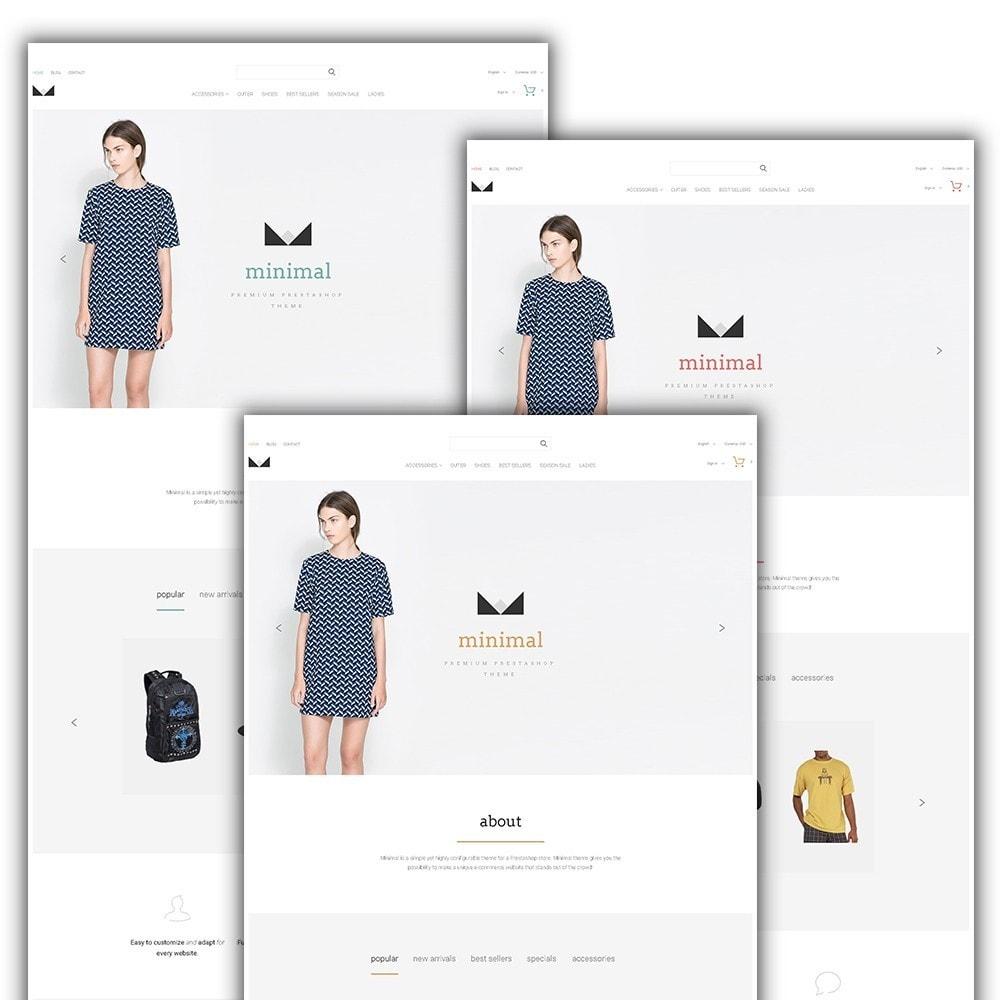 theme - Moda y Calzado - Minimal - 2