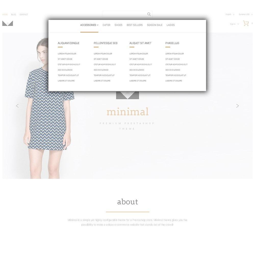 theme - Moda y Calzado - Minimal - 5