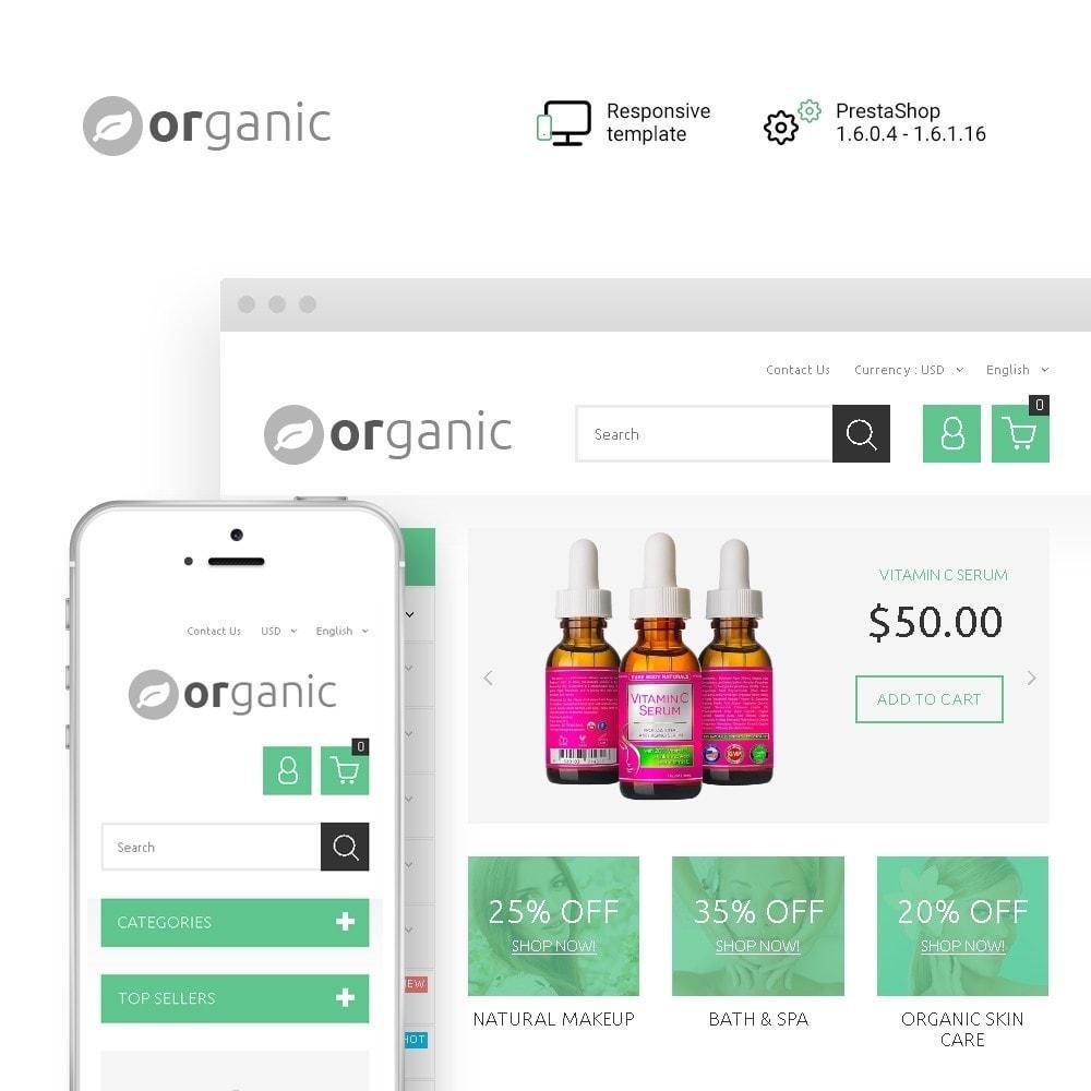 theme - Gezondheid & Schoonheid - Organic - 1