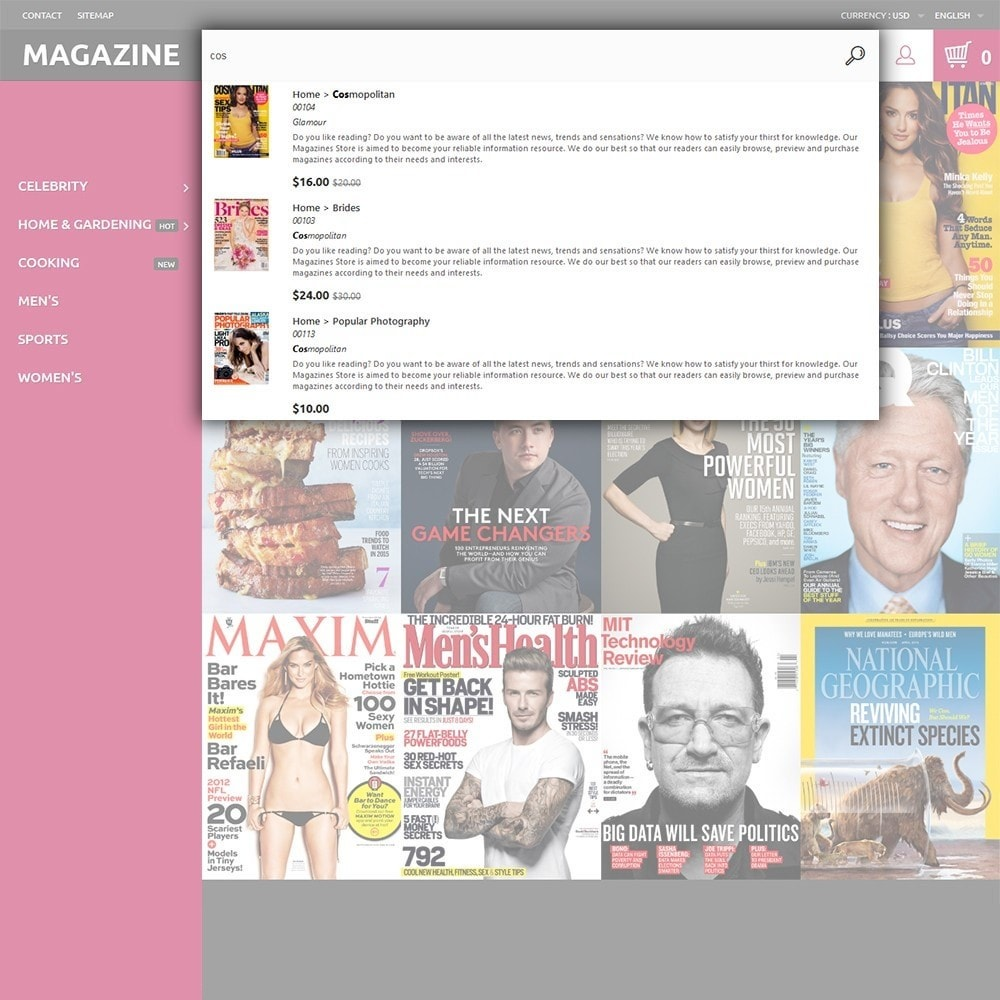 theme - Huis & Buitenleven - Magazine - Glossy Covers Theme - 6