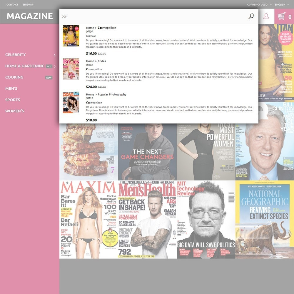 theme - Maison & Jardin - Magazine - Couvertures brillantes thème - 6