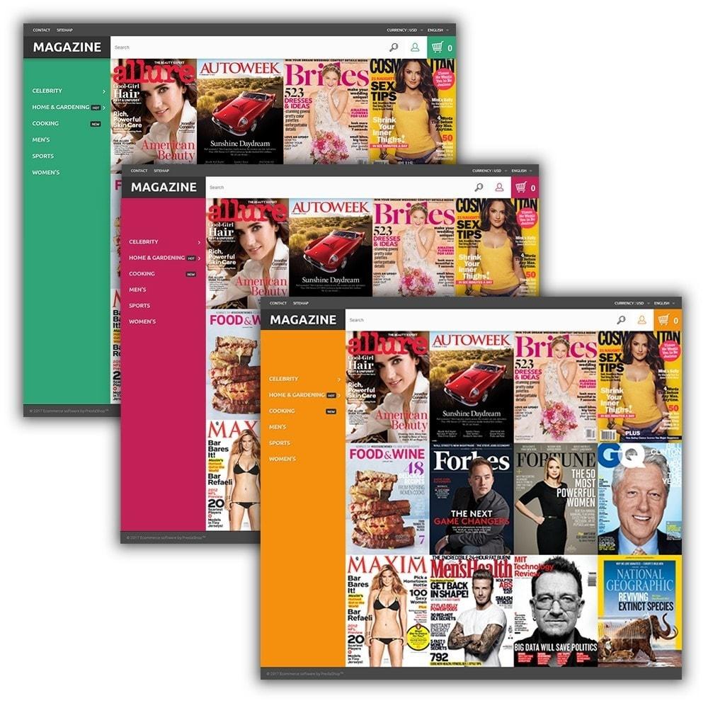 theme - Hogar y Jardín - Magazine - para Sitio de Revistas - 2