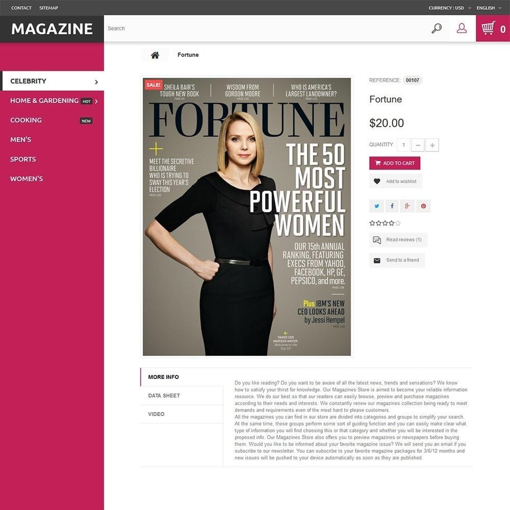 theme - Дом и сад - Magazine - шаблон на тему журнал - 3