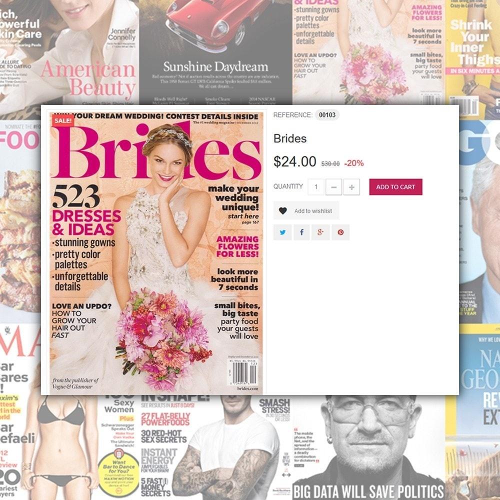 theme - Дом и сад - Magazine - шаблон на тему журнал - 4