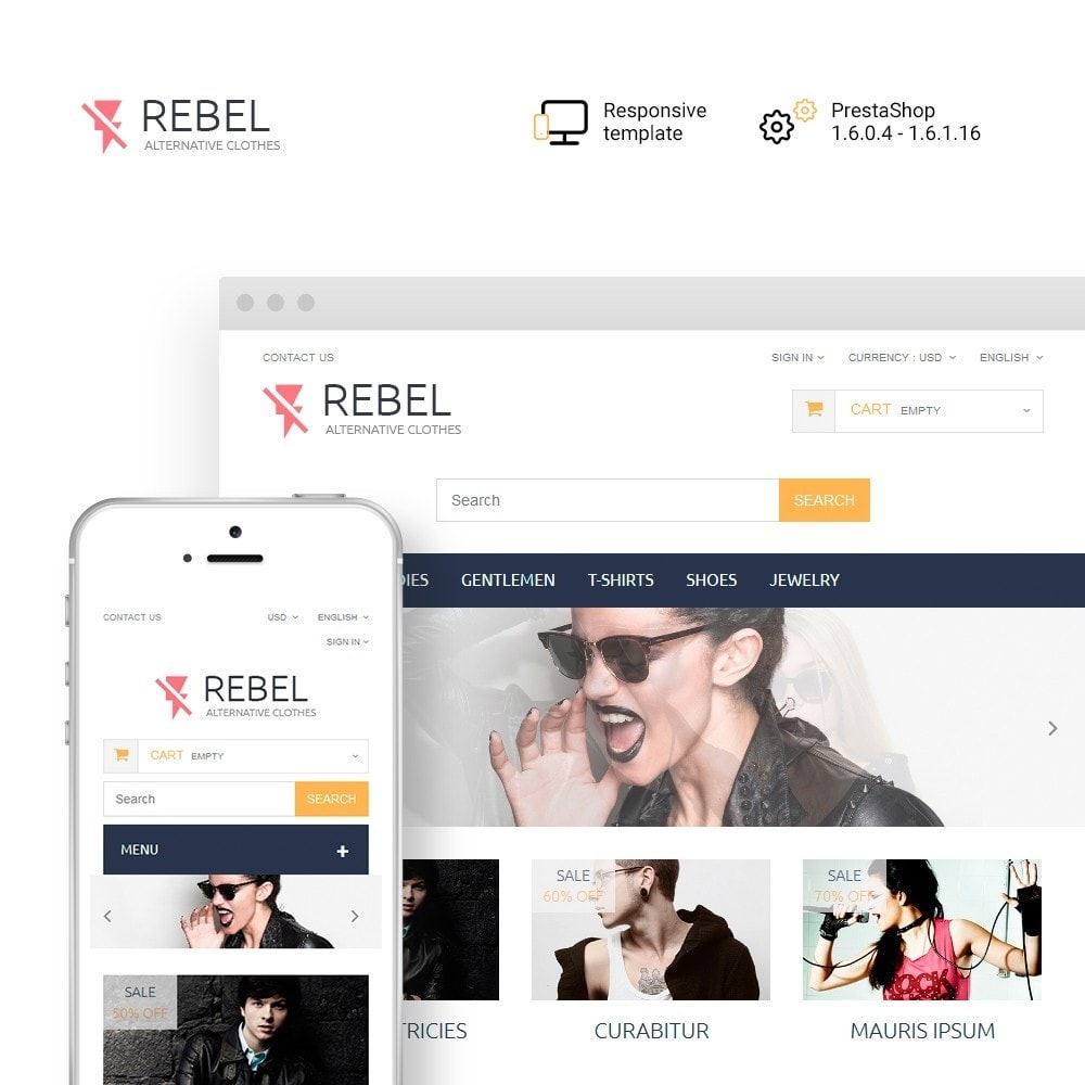 theme - Mode & Schuhe - Rebel - 1