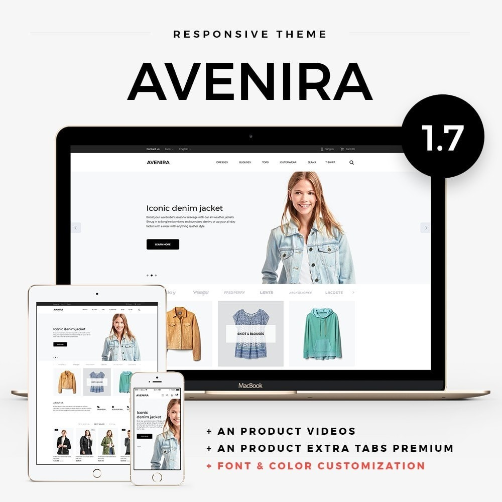 theme - Mode & Chaussures - Avenira Fashion Store - 1