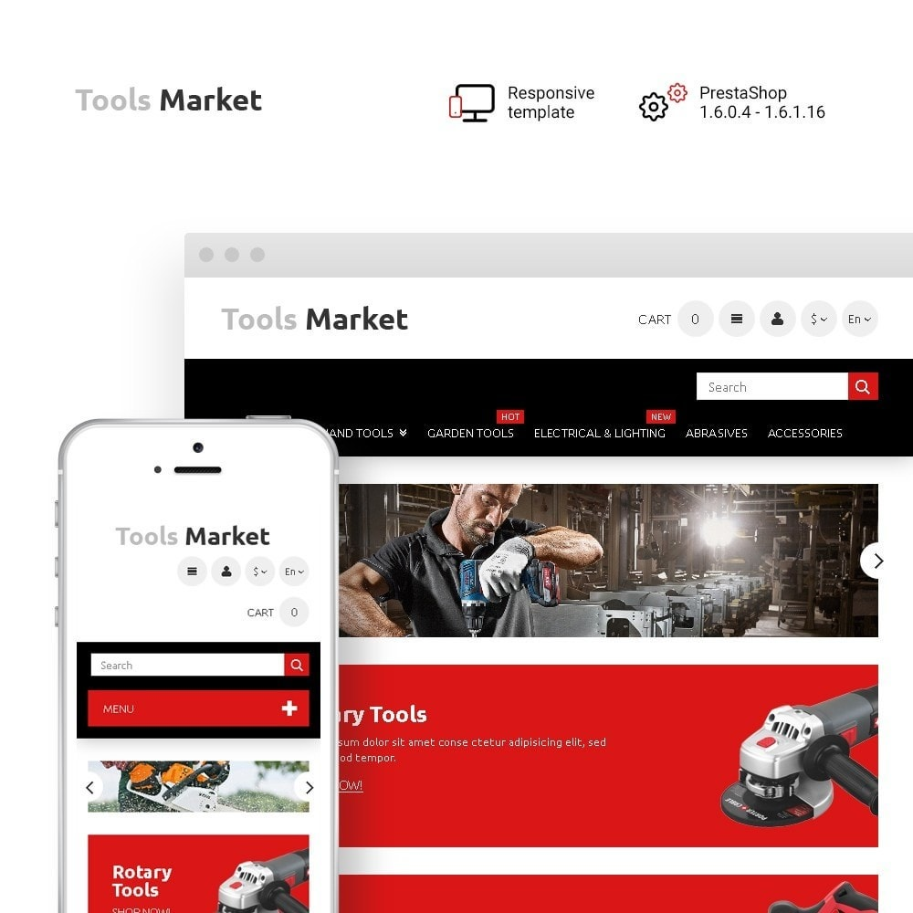 theme - Home & Garden - Tools Market - Home Repairs Template - 1